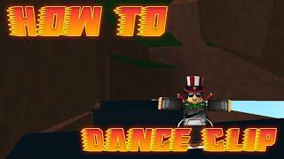 Roblox - How to Dance Clip Through Walls!