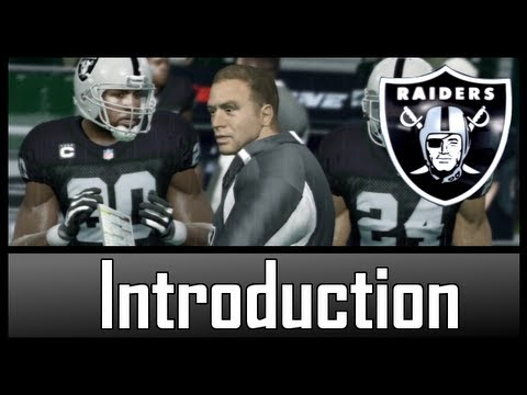 Madden 13 - OAKLAND RAIDERS Connected Careers Coach Introduction [EP.1]