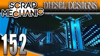 Scrap Mechanic Gameplay :E152: Logic & Timer Block CREATIONS!  (HD CREATIONS)