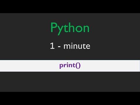 Python tutorial - print() error fix   1-minute Python fixes thumbnail