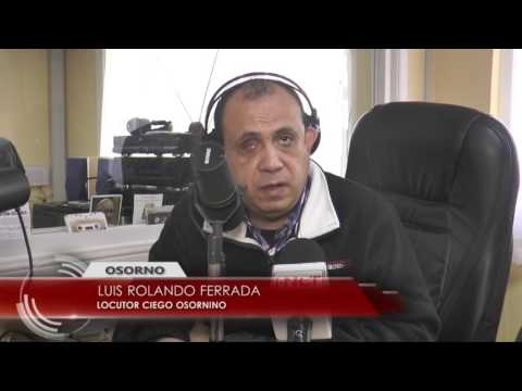 Destacan labor de locutor Luis Rolando Ferrada (VIDEO)