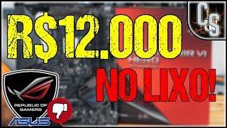 MEU PC DE R$12.000 NÃO FUNCIONA!