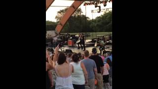 Andy Grammer-Moorhead, MN Bluestem Amphitheater August 2015
