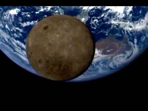 Moon Crosses Earth's Face Again In Satellite View | Video