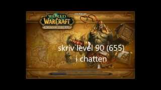 World of warcraft Lvl 90 Hack