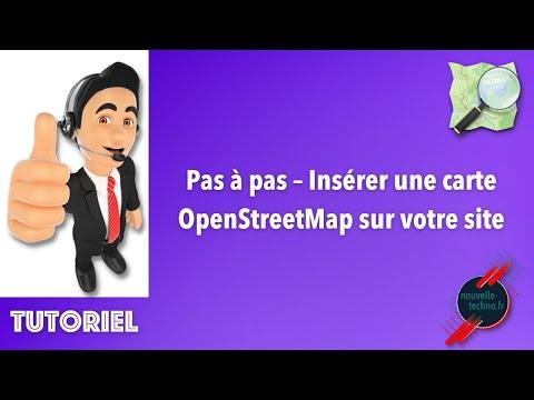 Pas à Pas – Insérer Une Carte OpenStreetMap Sur Votre Site