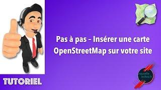 Miniature catégorie - Pas à pas – Insérer une carte OpenStreetMap sur votre site