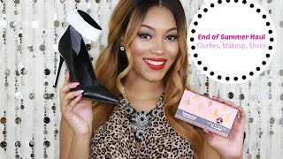 {Girl Talk} Fab Finds | End of Summer Clothing, Makeup, & Shoe Haul Thumbnail