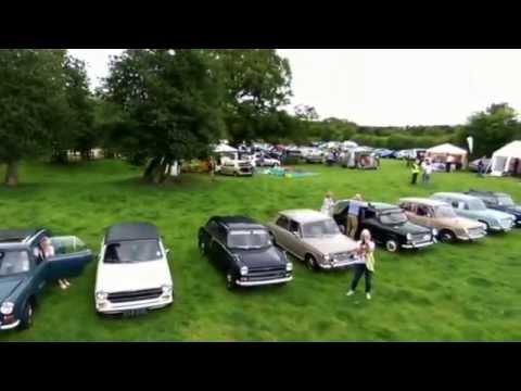 The 1100 Club National Rally - Acton Scott, Shropshire