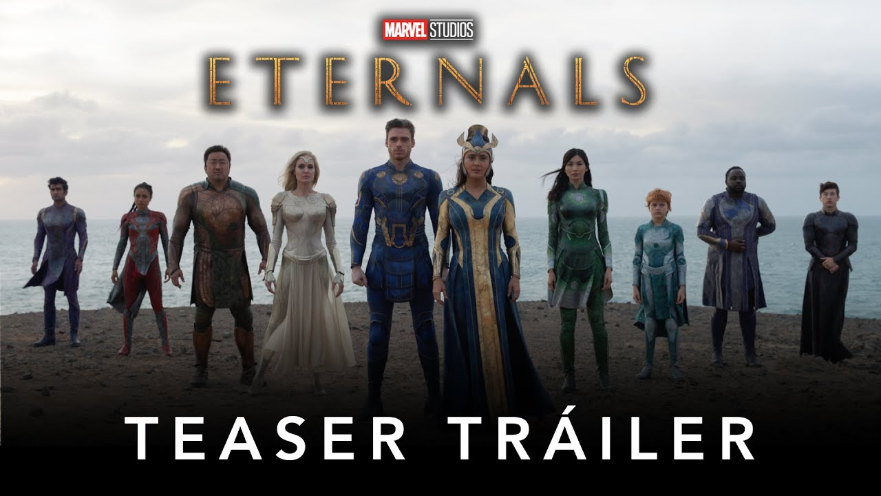 Eternals Marvel Studios Teaser Trailer Subtitulado Youtube