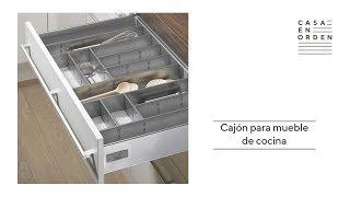 Tutorial para montar un cajón para mueble de cocina Hettich