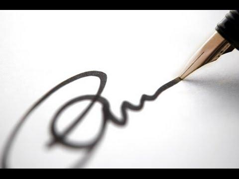 Qu dice tu firma sobre ti? - INTERPRETA TU FIRMA
