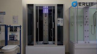 Гидромассажные душевые кабины Erlit ER4515TP-C3, ER4515TP-C4 - обзор