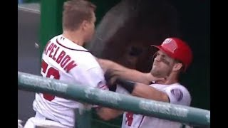 MLB TEAMMATE FIGHTS (HD)