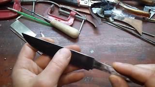 153. Изготовление ножа
