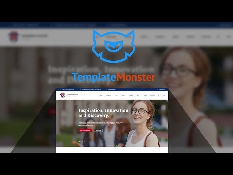 University Responsive Website Template #59029