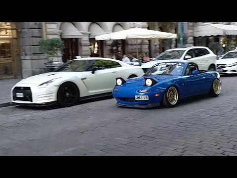Exotic Cars In Helsinki | Carspotting In Helsinki, Finland (Gallardo Spyder, R35, Amg Gtr Pro)