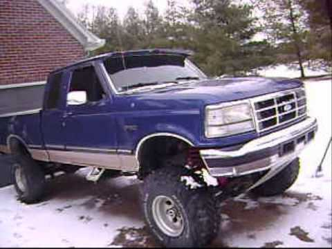 Lifted 1996 F 150 Cold Start Youtube