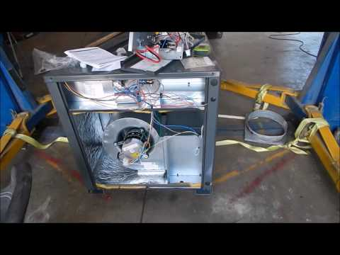 Goodman 4 Ton A/C Remove & Replace With New Unit .