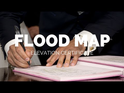 Flood Map Changes in Chatham County Episode 1: Part 3: Elevation Certificate