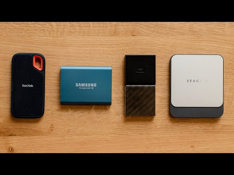 Top 5 Best Extreme Portable SSD | External Hard Drive - Review