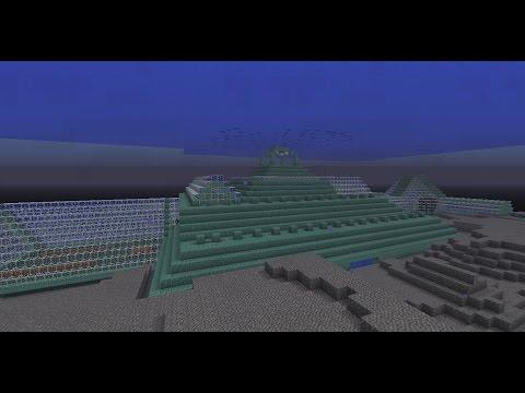 Minecraft 2b2t: Deep Sea Base Building