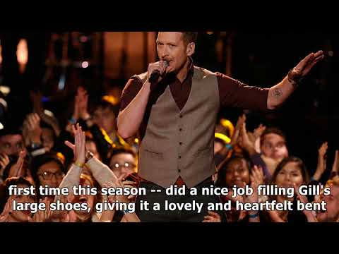 'the Voice' Red Marlow Does 'go Rest High On That Mountain' By Vince Gill