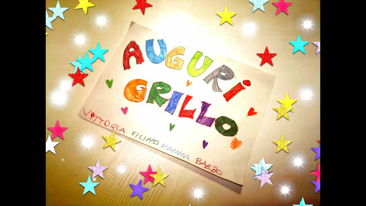 Buon compleanno GRILLO!