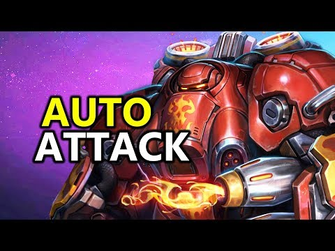 ♥ Auto Attack Blaze - Heroes of the Storm (HotS Gameplay)