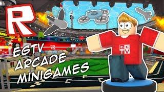 EGTV Minigames! | Roblox