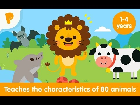 Animal World, Preschooler to Learning The Animals, Educational Game, Children Games