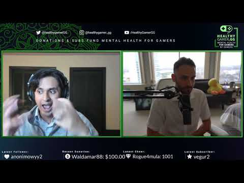 Dr. Alok Kanojia (HealthyGamerGG) Speaks About Marijuana And Meditation With Reckful