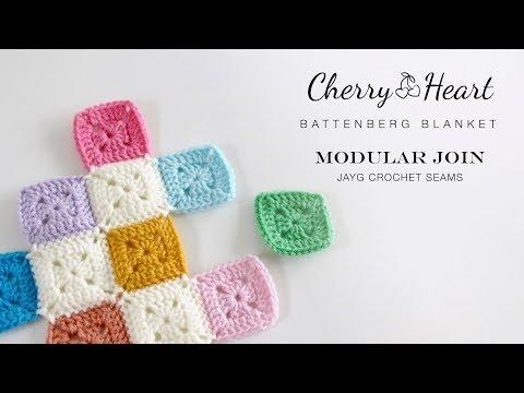 Modular Join (JAYG Crocheted Seams)