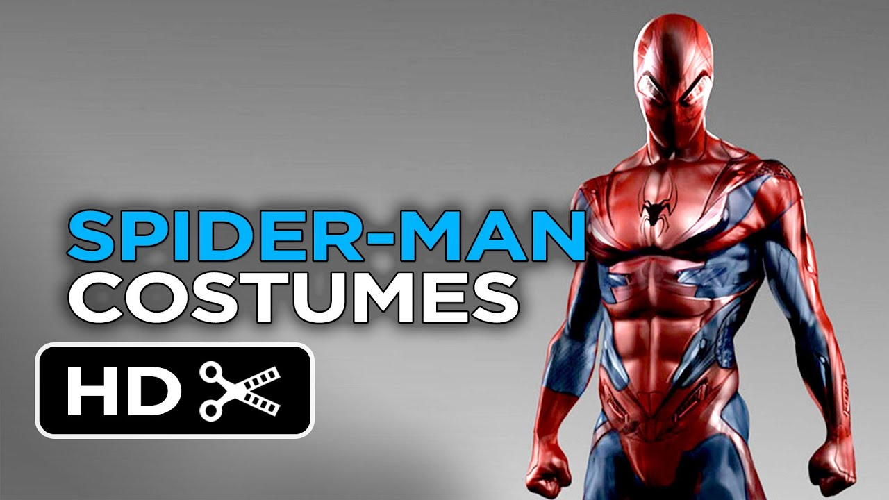 The Amazing Spider-Man 2 - Alternative Costumes Concept Designs (2014) - Marvel Movie HD - YouTube  sc 1 st  YouTube & The Amazing Spider-Man 2 - Alternative Costumes Concept Designs ...
