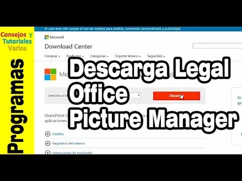 Cómo instalar el office picture manager en office 2013 de forma legal.