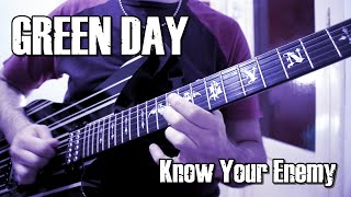 Gambar cover KNOW YOUR ENEMY (Solo + Tab) - GREEN DAY (Cover) - JOAN MANUEL DEFELIPPE