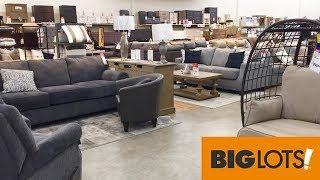 Big Lots Furniture Sofas Couches Armchairs Home Decor 2020 Shop With Me Shopping Store Walk 4k