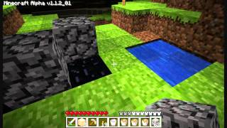 Minecraft - Portal without a Diamond Pickaxe!