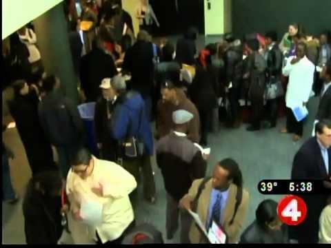 Job seekers flock to Mayor's job fair