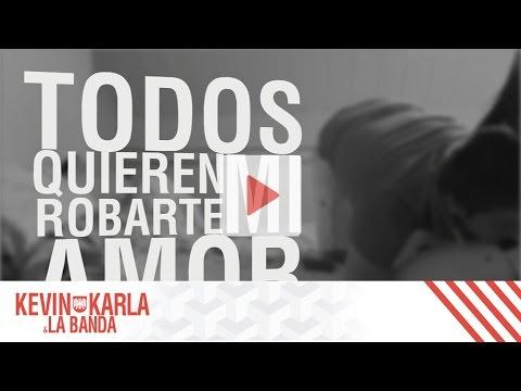 Steal My Girl (spanish version) - Kevin Karla & La Banda (Lyric Video)