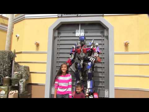 Transformers Universal Studios Hollywood