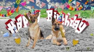 HAPPY BIRTHDAY - German Shepherd