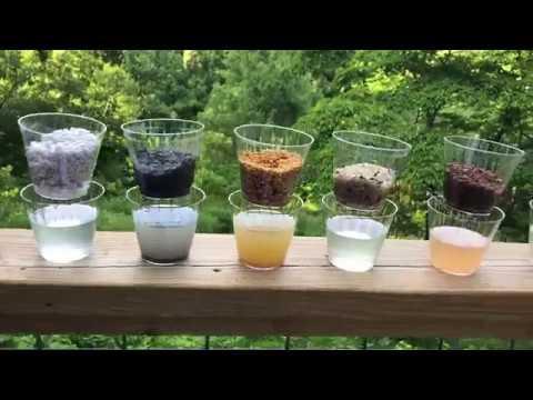 Bonsai Soil Tests: Part 1: Water Retention