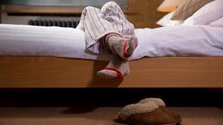 Inquietas cura de piernas dolor de