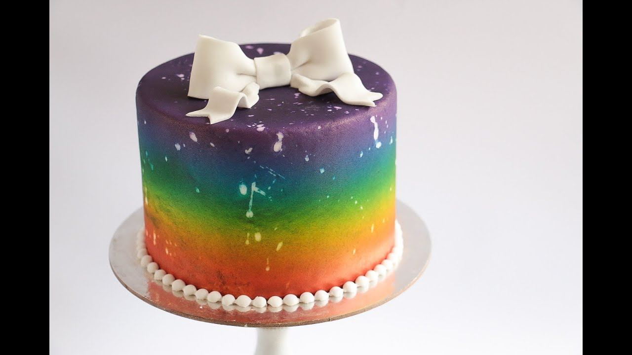 What To Use For Rainbows On Cake Decoration