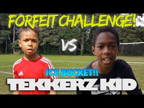 Forfeit Challenge!| Tekkerz Kid Vs Romello | Ice Bucket!!