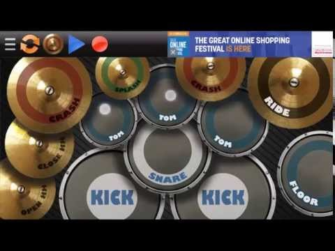 How to play Drums Android