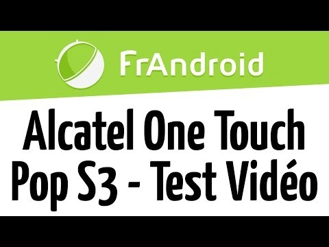 Alcatel One Touche Pop S3 - Qualité Vidéo Full-HD 1080p