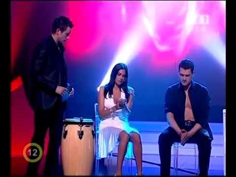 Heart stop in a live TV show - Máté Rakonczai