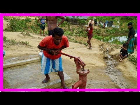 News today-hundreds of thousands of refugees counted in facing the crisis of water shortages as wel